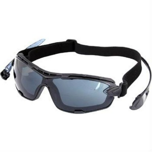 UCi Riga Smoke Wraparound Safety Glasses S907